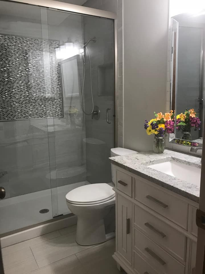 Bathroom Remodel (Designed by Inspiring Homes)